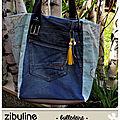 Sac cabas jean et simili #zibuline