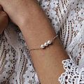 Bijoux mariage en perles