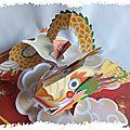 Nouvel an chinois : le dragon pop-up et la geisha