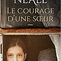 Roman   Le courage d'une soeur