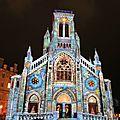 Biarritz, Biarritz en lumières 2016, église Sainte Eugénie, révélations (64)
