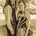 Mariage gothique 1900