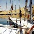 Sortie en félouque sur le Nil aux couleurs d'or