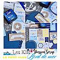 Les kits de l'été : bord de mer
