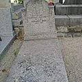 Tombe de la famille Verrinot