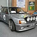 PEUGEOT 205 GTI kit carrosserie large Dimma 1990 Besançon (1)