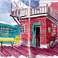 01. Montréal - Terrasse de l'auberge