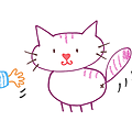 Un bébé et des chats...
