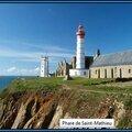 <b>Phare</b> Pointe Saint-Matthieu II (Finistère) : le site le plus extraordinaire
