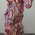 Hervé THAREL SCHMIMBLOCK'S mouv' 2012 - acrylique sur argile 20,5cmx23cm (7)