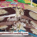 Recette : gâteau marbré