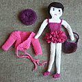 Mlle fushia, ballerine #pdr0000134