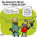 Des adolescents partent faire le djihad en syrie