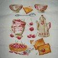 Bowls & cherries de dmc