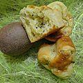 Muffins choco-coco kiwi