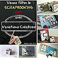National scrapbooking day chez variations créatives !