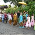 Procession d'un mariage