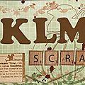 Ma proposition de bannière pour <b>KLM</b> scrap