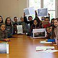 À Chinon, les élèves plongent dans les <b>archives</b> !