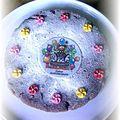 Gâteau allégé au chocolat et aux amandes