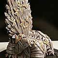 Trône game of thrones droite