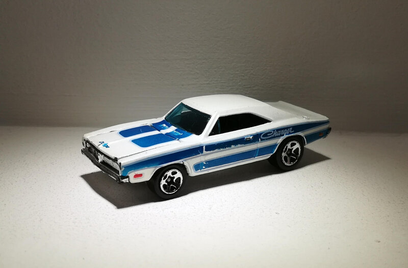 Dodge Charger de 1969 (Hotwheels)