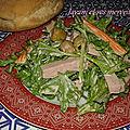 <b>Salade</b> gourmande de mes merveilles