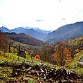 Le massif de Sesques de puis Boesou...