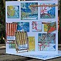 Seaside birthday card / une petite carte d'anniversaire de bord de mer...