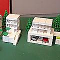 <b>Lego</b> architecture, de minuscules maisons ou de la micro-architecture !