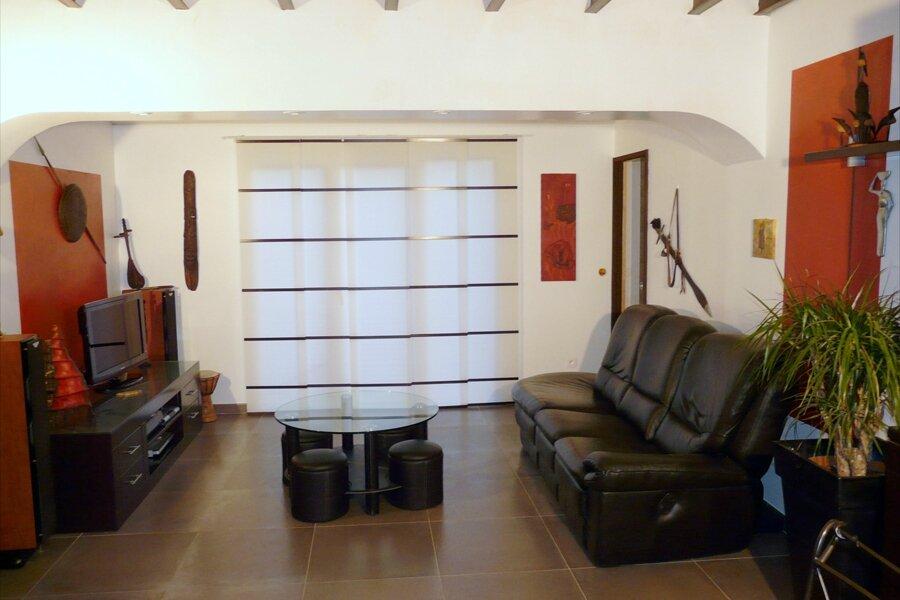 Décoration de salon, style africain - Photo de Déco-Peinture ...
