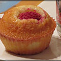 Mini-financiers à la framboise
